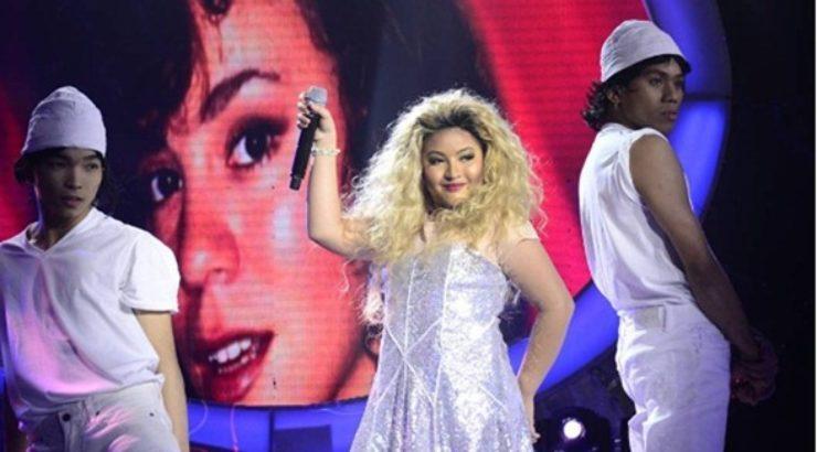 Elha Nympha as Mariah Carey in Your Face Sounds Familiar Kids