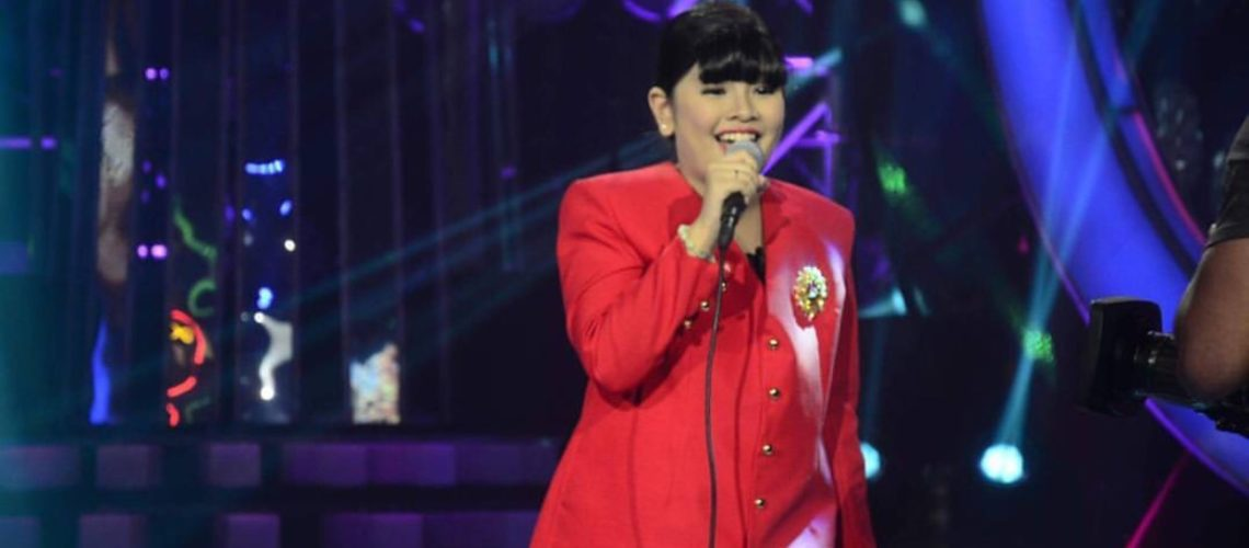 Elha Nympha as Lea Salonga in Your Face Sounds Familiar Kids