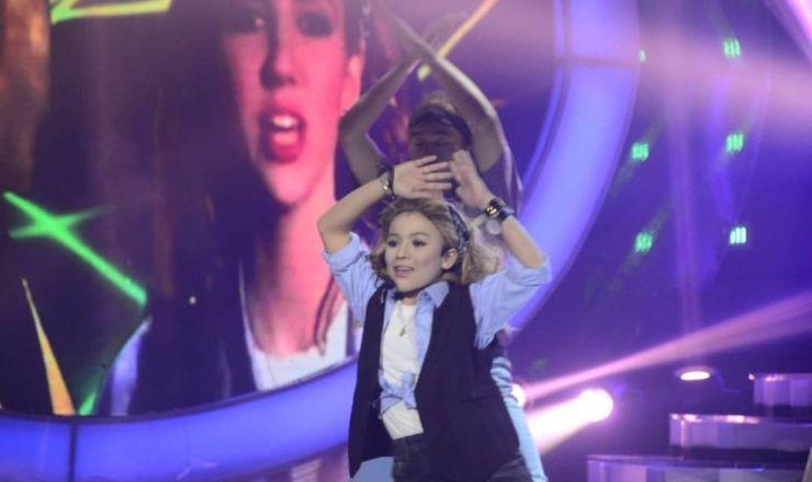 Lyca Gairanod as Debbie Gibson in Your Face Sounds Familiar Kids
