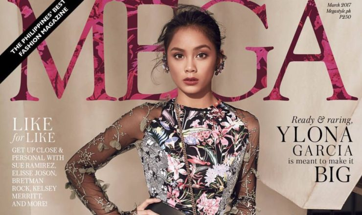 Ylona Garcia for Mega March 2017
