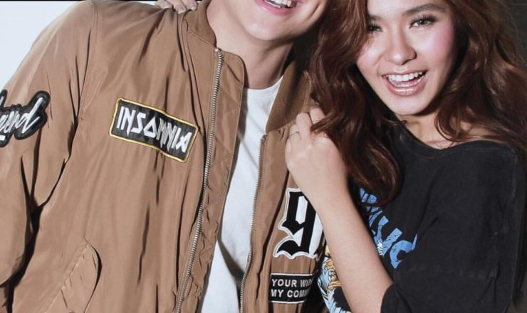 Loisa Andalio and Jameson Blake for Inside Showbiz Weekly