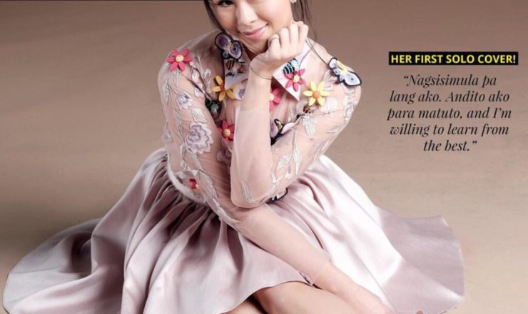 Kisses Delavin for Inside Showbiz Weekly