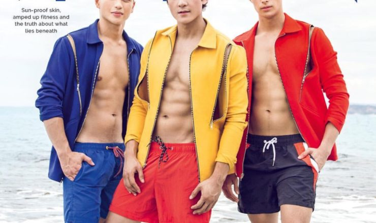 Dominic Roque, Joseph Marco, Ivan Dorschner for Mega Man April 2017
