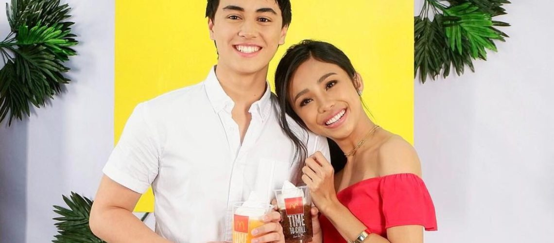 Edward Barber and Maymay Entrata are newest faces of McDo PH