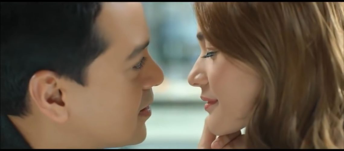 John Lloyd Cruz and Bea Alonzo for Lucky Me