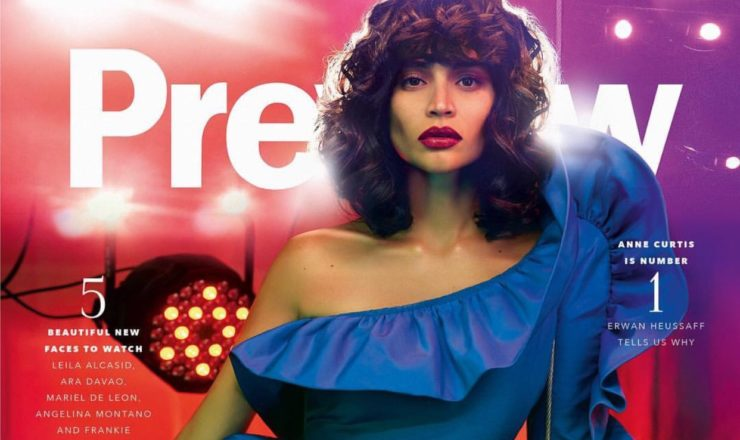 Anne Curtis for Preview May 2017