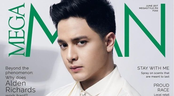 Alden Richards for Mega Man June 2017