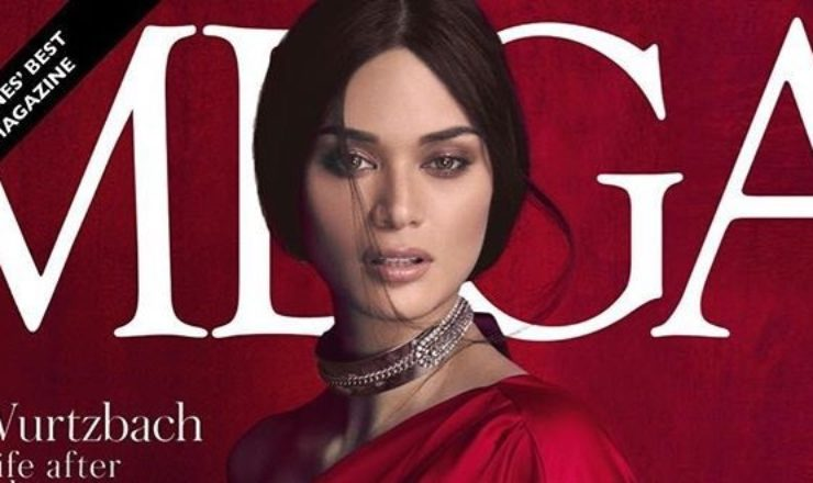 Pia Wurtzbach, Kylie Versoza and Megan Young for Mega June 2017