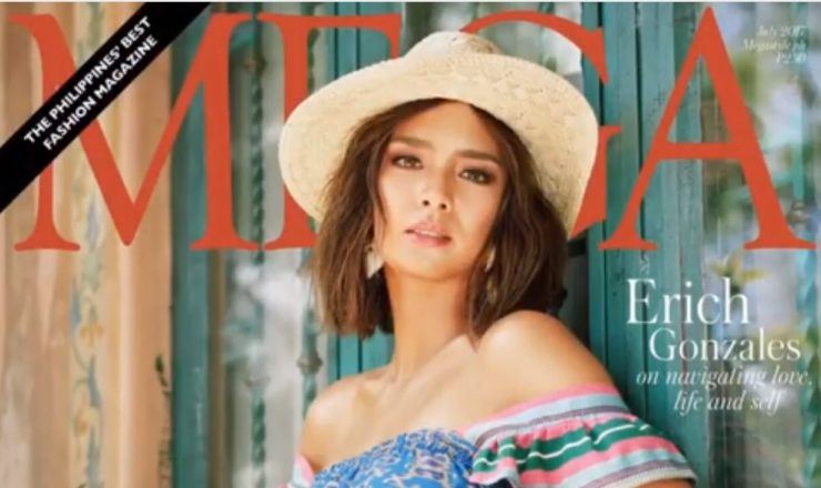 Erich Gonzales for Mega July 2017