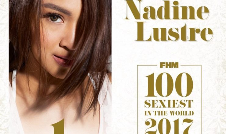 Nadine Lustre is FHM PH Sexiest