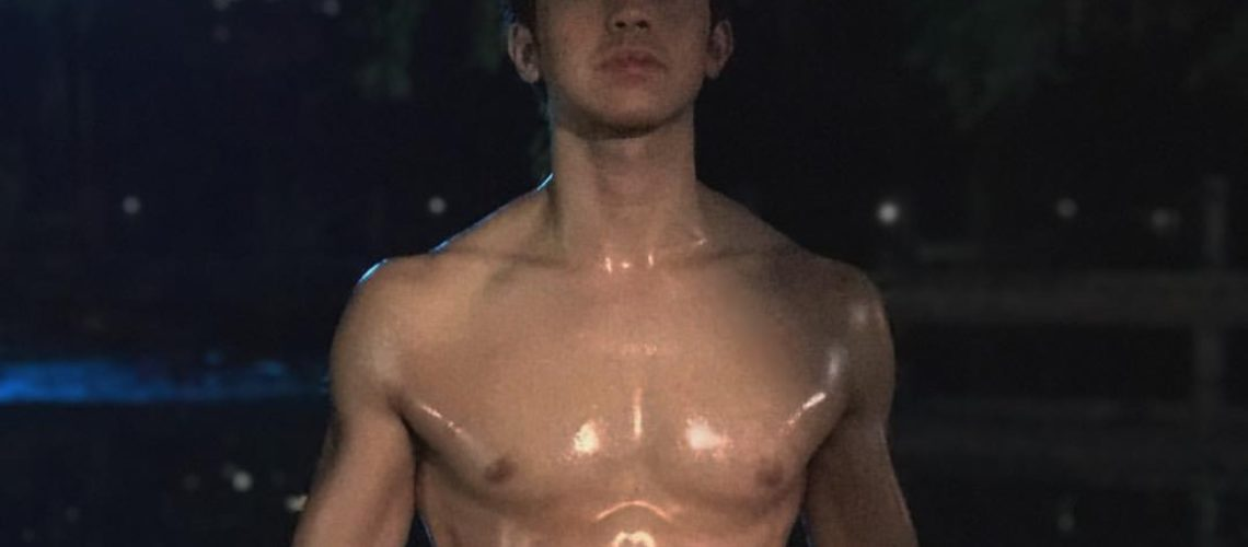 Derrick Monasterio shirtless as Almiro in Mulawin vs Ravena