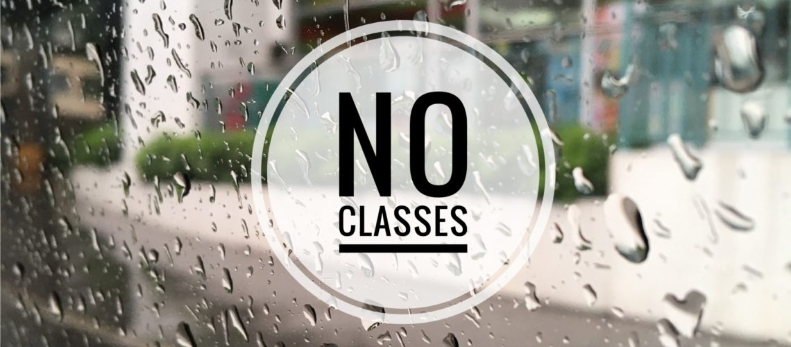 Class Suspensions – July 17 (Tuesday)