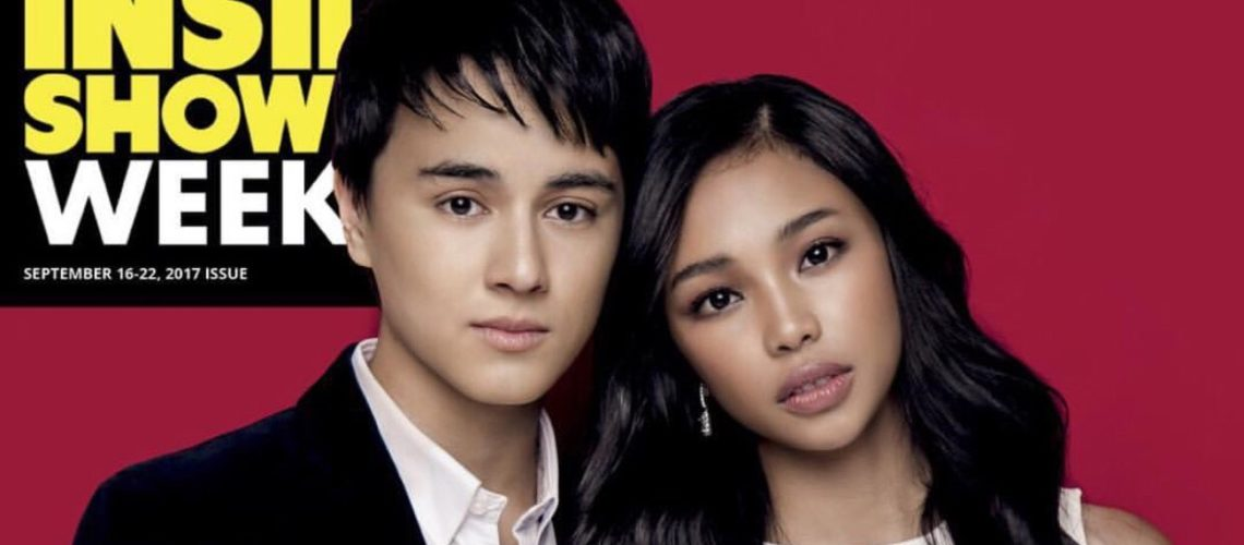 Maymay and Edward for Inside Showbiz Weekly
