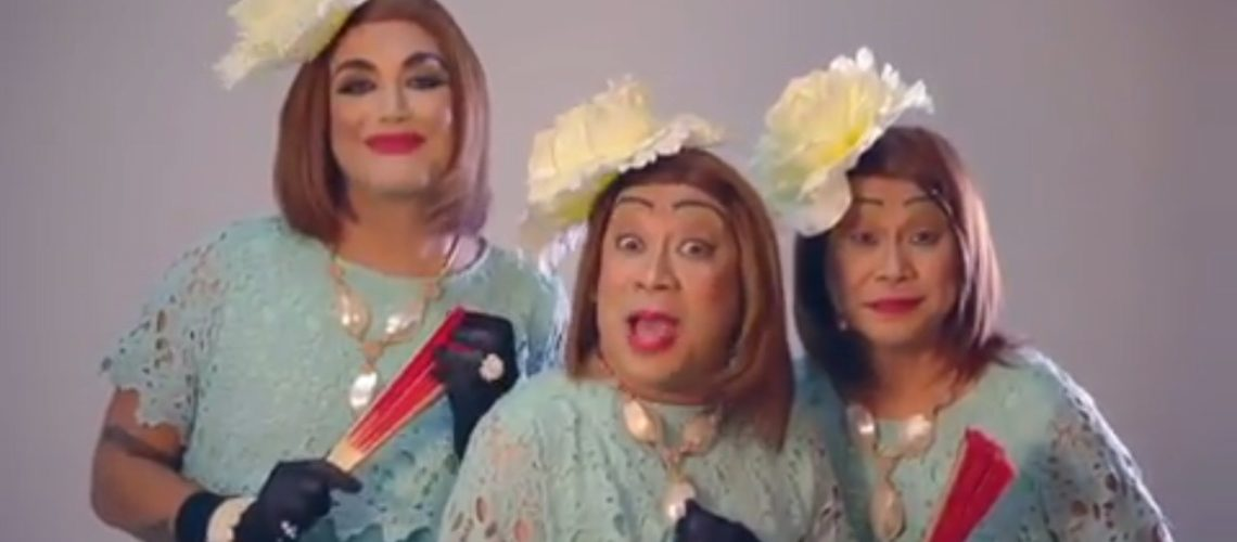 Nidora, Tidora and Tinidora star in The Lolas' Beautiful Show