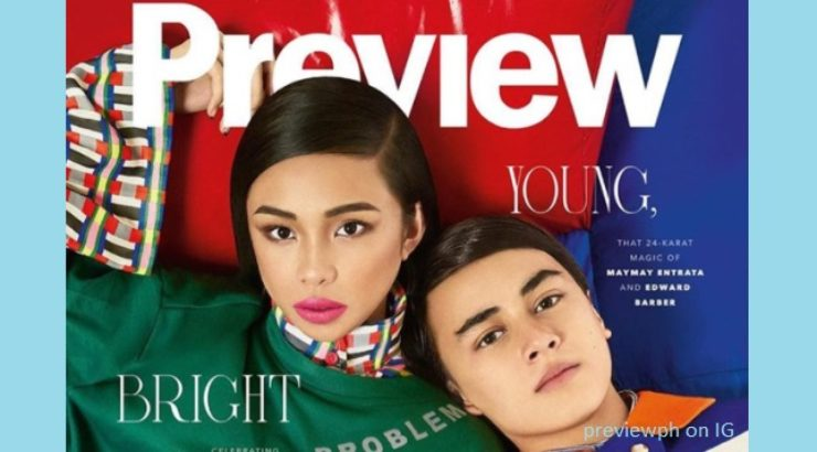 Maymay Entrata and Edward Barber for Preview November 2017