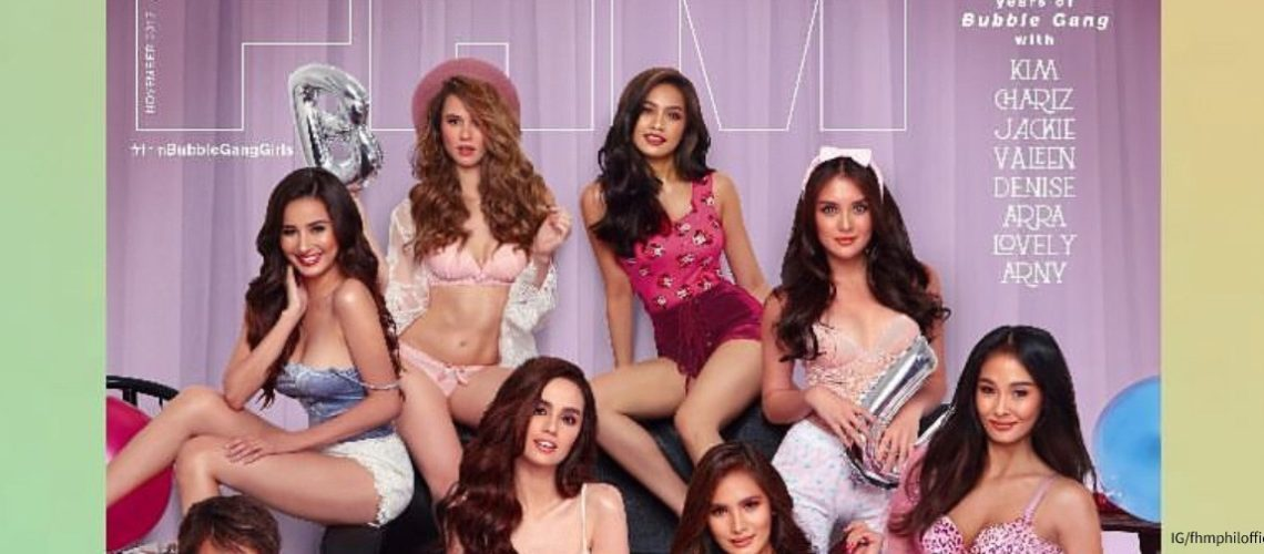 Bubble Gang girls for FHM PH November 2017