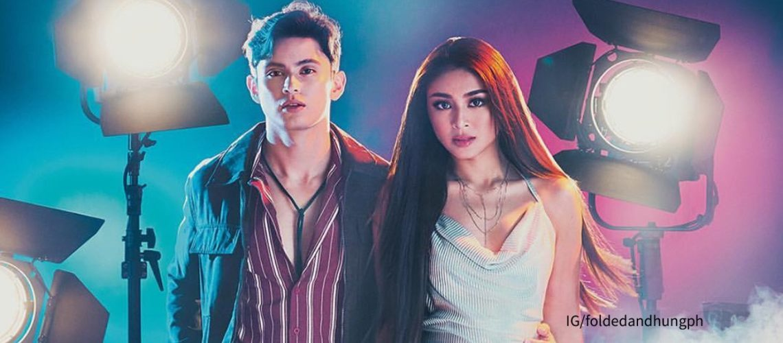 James Reid and Nadine Lustre for Folded and Hung