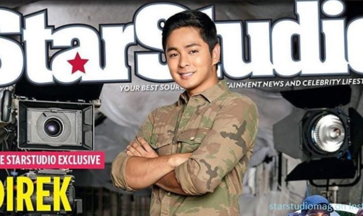 Coco Martin covers StarStudio November 2017