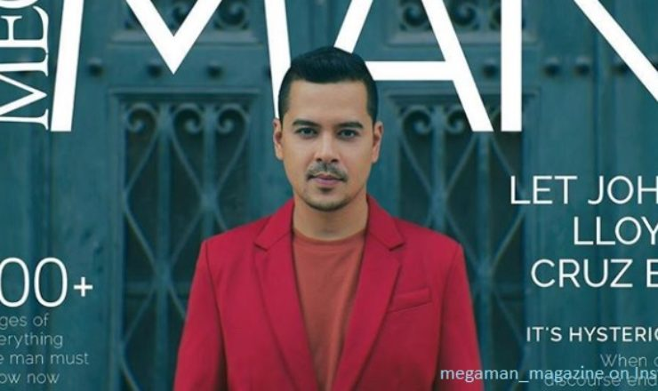 John Lloyd Cruz for Mega Man November 2017
