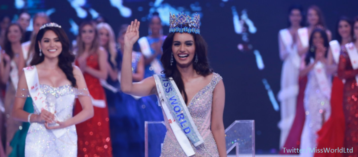 Miss World 2017 is Manushi Chhillar from India