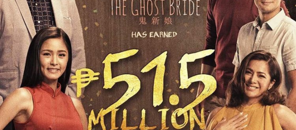 The Ghost Bride posts P51.5M earning as of November 5