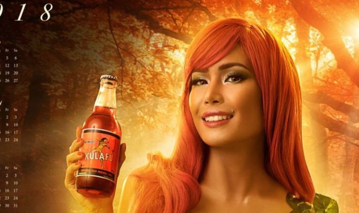 Myrtle Sarrosa is Ginebra Calendar Girl 2018