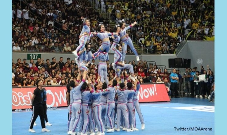 WATCH: Adamson Pep Squad winning performance at 2017 UAAP Cheerdance Competition