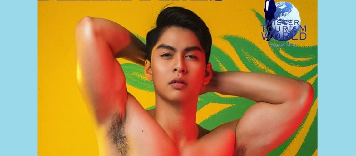 Angelo Adarlo from Philippines places 3rd in Mister Tourism World 2017