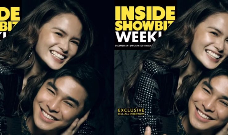 Mccoy De Leon and Elisse Joson for Inside Showbiz Weekly