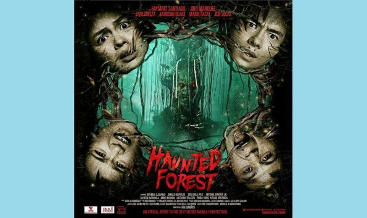 Haunted Forest starring Jane Oineza, Maris Racal, Jameson Blake – Official Poster