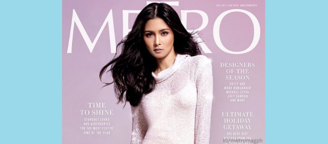 Kim Chiu for Metro December 2017-January 2018