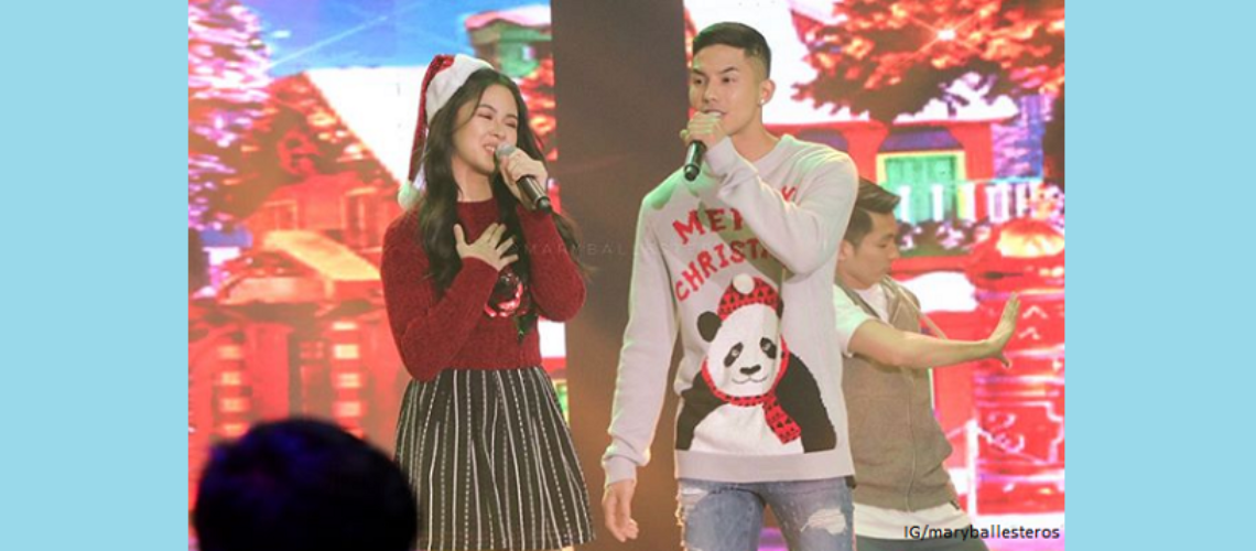 Kisses Delavin and Tony Labrusca pair up for ASAP Christmas special