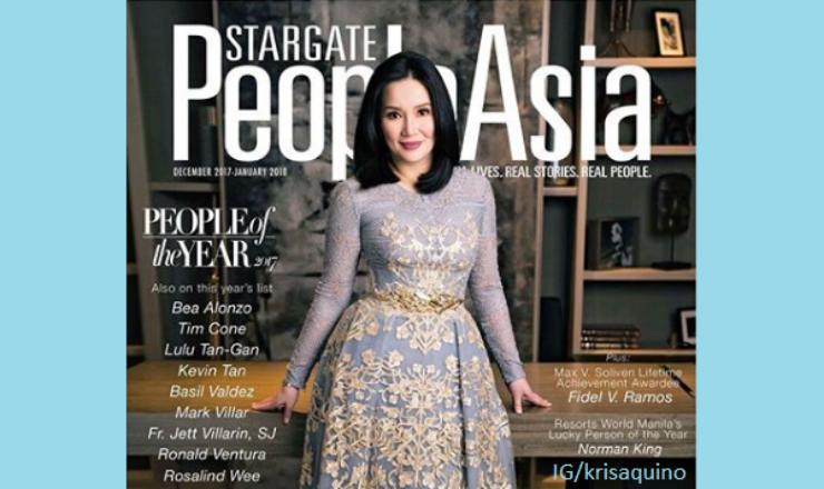 Kris Aquino for People Asia December 2017-January 2018