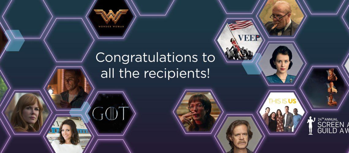 24th Screen Actors Guild Awards – Three Billboards Outside Ebbing, Missouri wins big