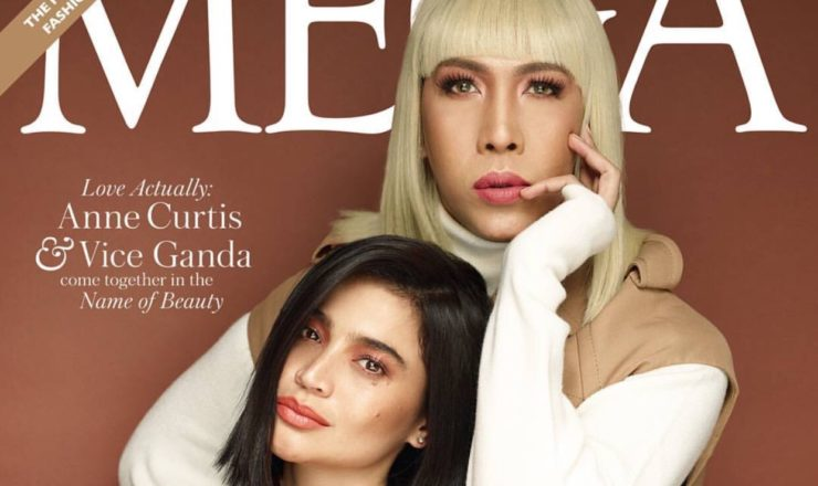 Vice Ganda, Anne Curtis for Mega January 2018