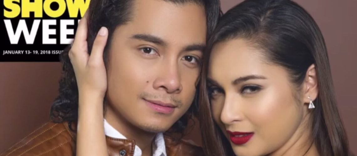 JC Santos and Ryza Cenon for Inside Showbiz Weekly