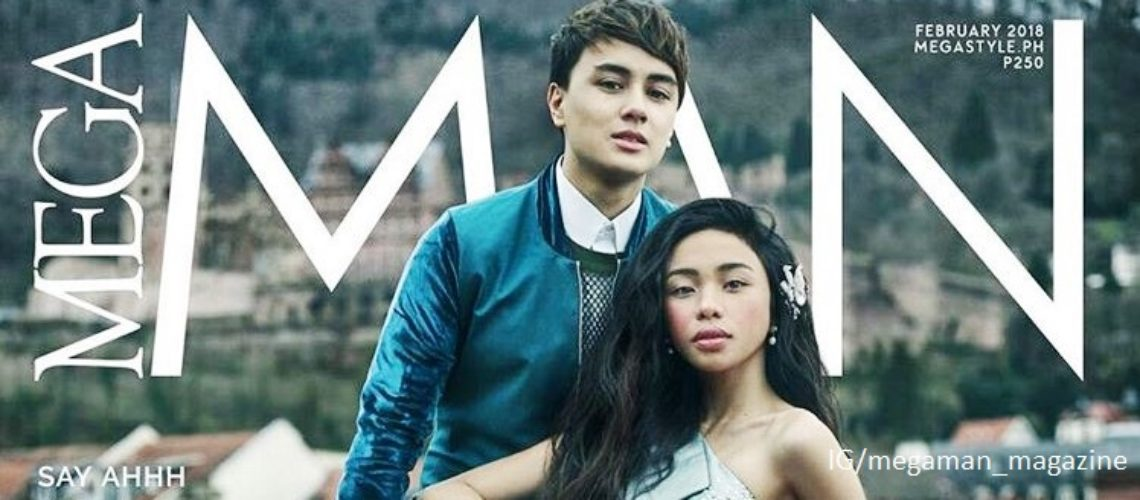 Edward Barber with Maymay Entrata for Mega Man February 2018
