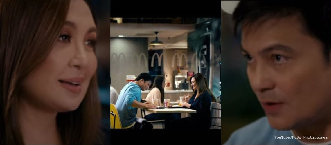 Sharon Cuneta and Gabby Concepcion reunite for McDo endorsement
