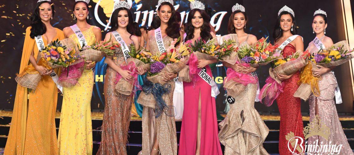 Bb. Pilipinas 2018 winners named