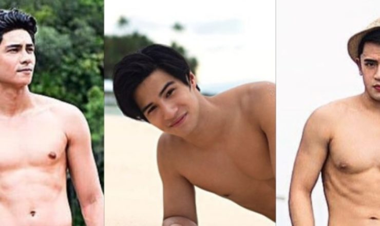 Kiko Estrada, Albie Casiño, David Licauco for Bench Summer 2018