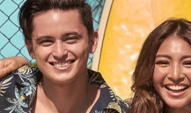 James and Nadine star in Folded and Hung's summer campaign