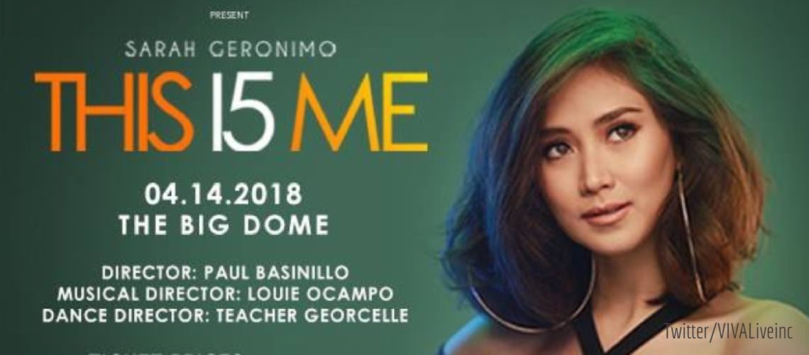 Additional VIP tickets now available for Sarah Geronimo's 15th anniversary concert