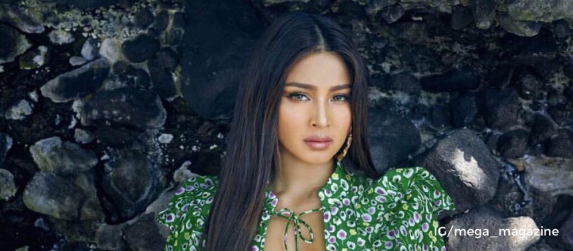 Nadine Lustre for Mega April 2018