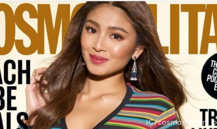 Nadine Lustre for Cosmopolitan PH April 2018