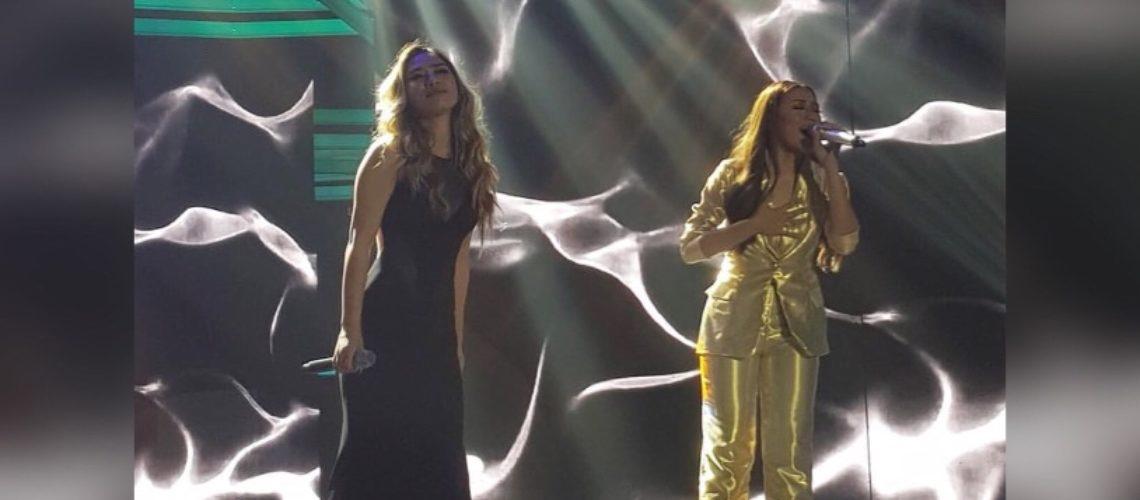 Morissette Amon sings Stone Cold with Jessica Sanchez