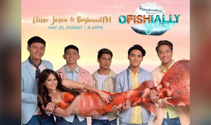 Elisse Joson and BoybandPH star in Wansapanataym Presents: Ofishially Yours