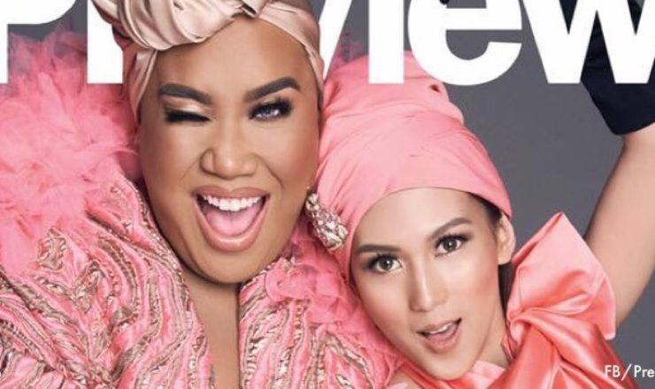 Alex Gonzaga and Patrick Starrr for Preview May 2018