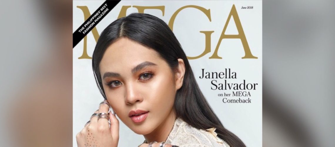 Janella Salvador for Mega June 2018