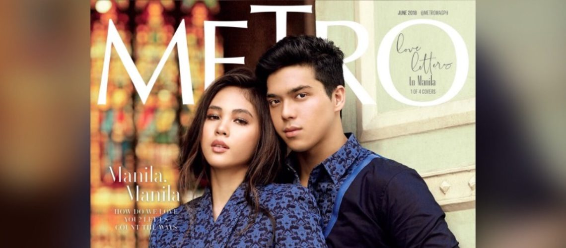 Janella Salvador and Elmo Magalona for Metro June 2018