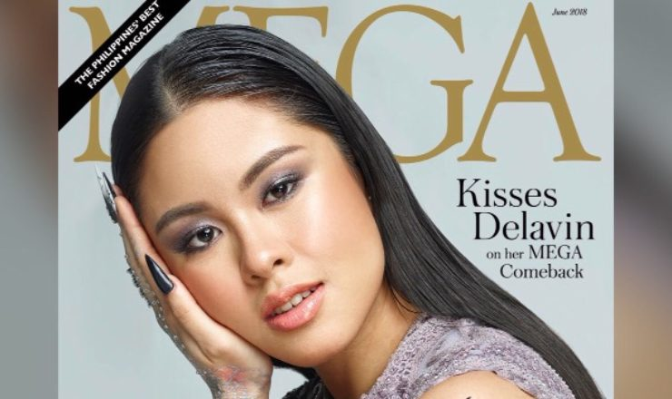 Kisses Delavin for Mega June 2018